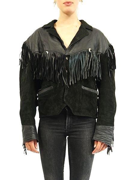 Vestes Vintage:  Vestes en Cuir 80's / 90's