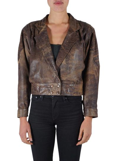 Vintage Jackets: 80's & 90's Leather Jackets