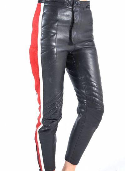 Vintage Pants: Leather Motor Pants