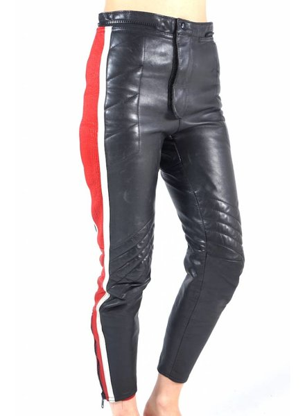 Vintage Pants: Leather Motor Pants