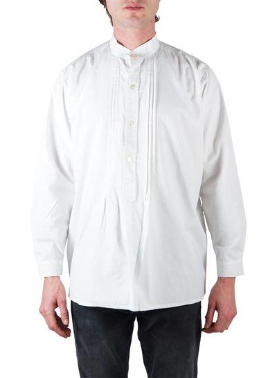 Chemises Vintage: Tuxedo Chemises Blanc