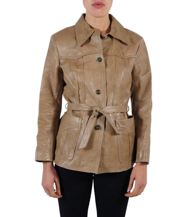 Vintage Jackets: 70's Nappa Leather Jackets Ladies