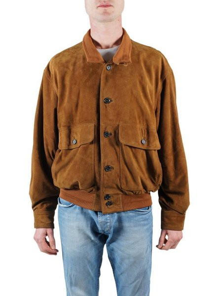 Vintage Jackets: Leather/Suede Bomber Jackets