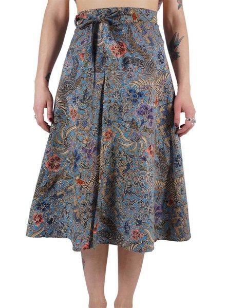Vintage Skirts: Wrap Skirts