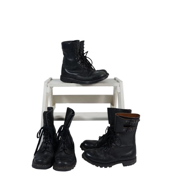 Vintage Shoes: Army Boots