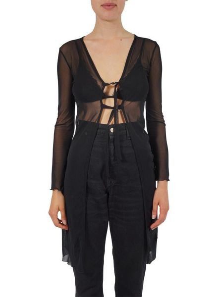 Vintage Tops: See-Through Blouses