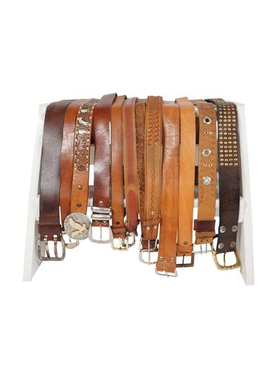 Vintage Belts: Brown Leather Belts
