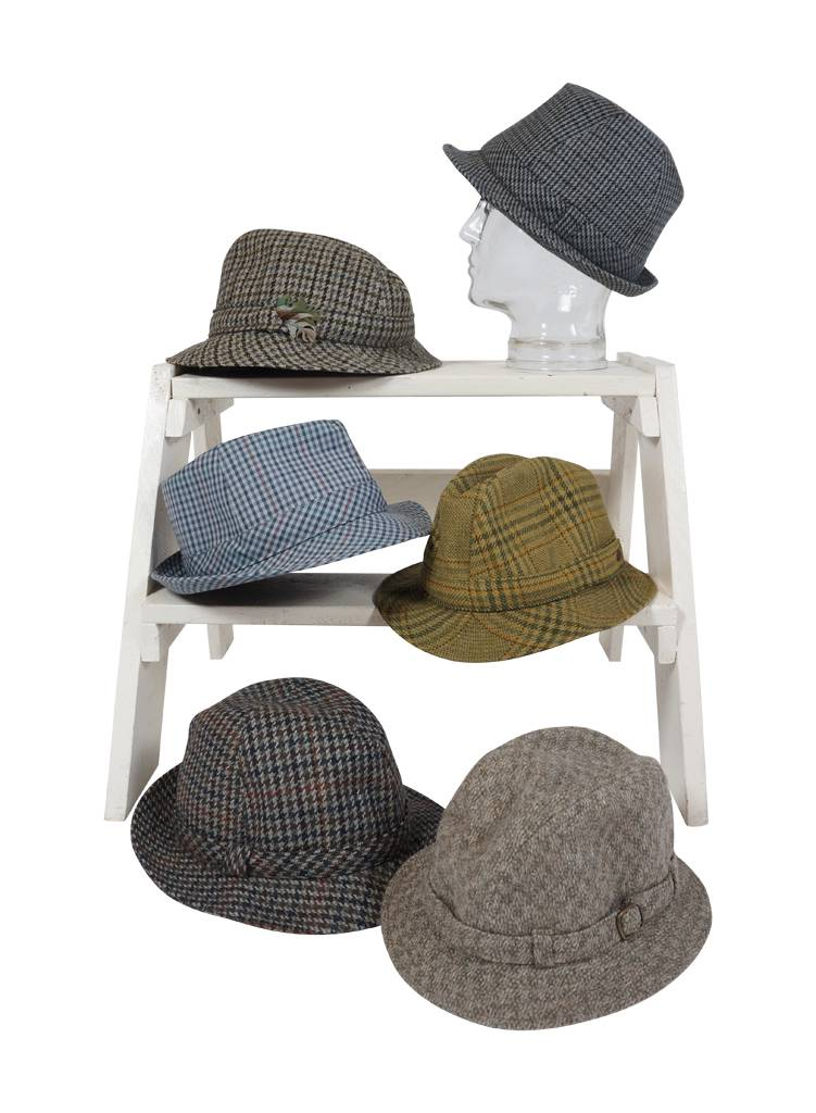07096b9f954b3 Vintage Hats: Checkered Hats - ReRags Vintage Clothing Wholesale
