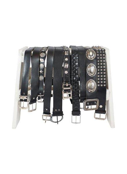 Vintage Belts: Leather Belts Mix