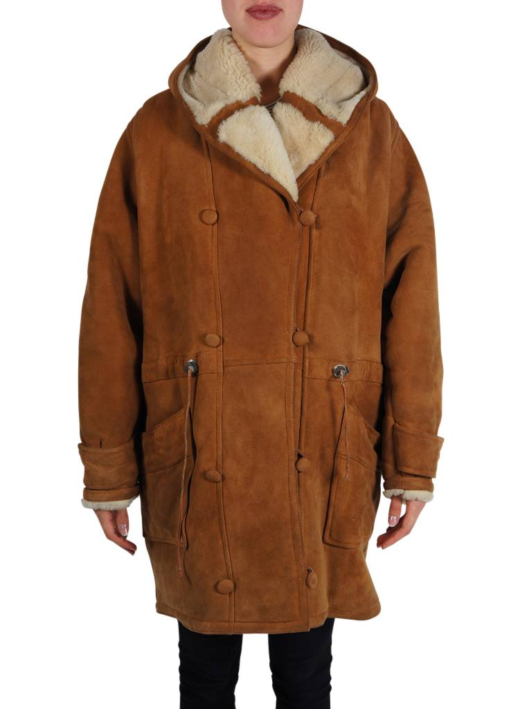 38c74814ec1 Vintage Coats: 90's Sheepskin Coats Ladies