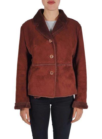 Vintage Coats: Faux Suede Lady Coats & Jackets