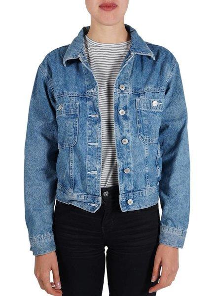 Vestes Vintage: Vestes en Jean - Deuxième Qualité