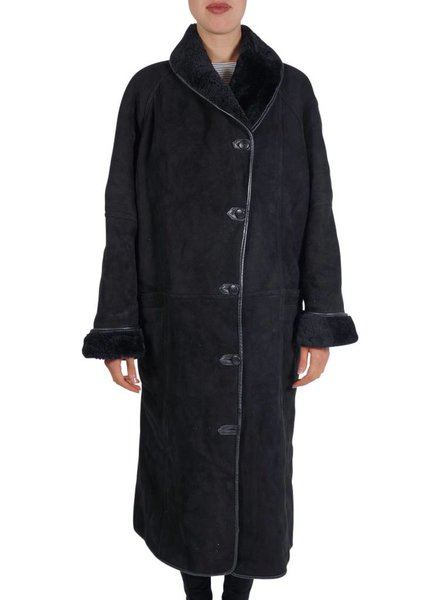 Manteaux Vintage:Manteaux en Peau de Mouton Femmes - Deuxième Qualité