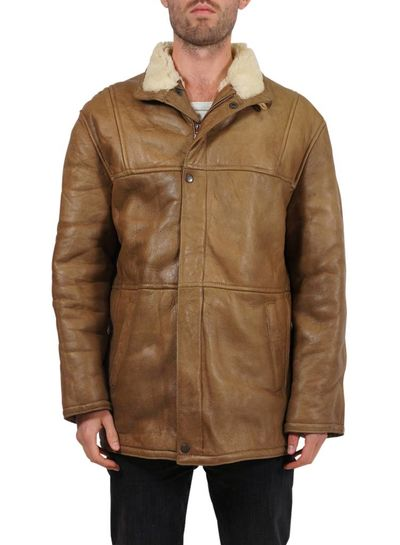 Vintage Coats: Men Sheepskin Coats 2nd Choice