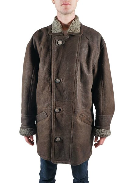 Vintage Coats: Men Sheepskin Coats 2nd Choice
