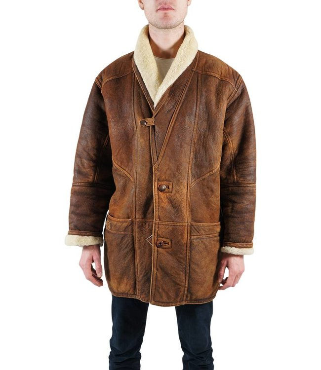 Manteaux Vintage: Manteaux en Peau de Mouton Deuxième Qualité