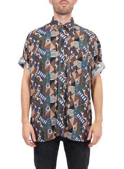 Chemises Vintage: Mélange de Chemises Hommes Deuxième Qualité