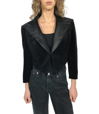 Vestes Vintage: Vestes en Velours Femmes