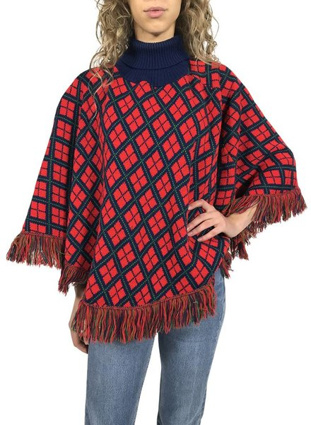 Vintage Knitwear: Poncho's