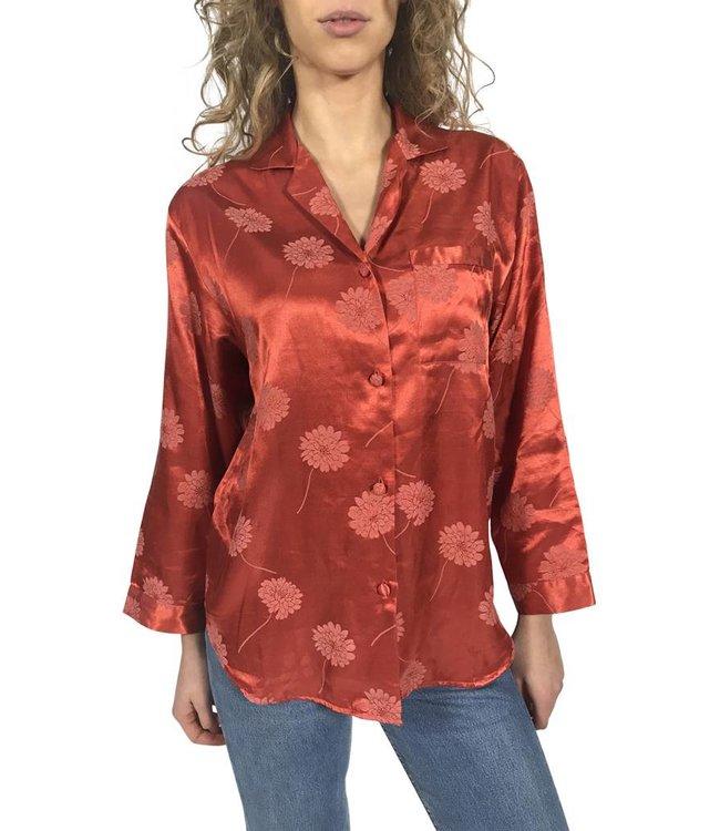 Vintage Tops: Pajama Blouses