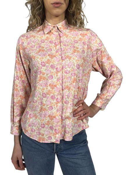 Hauts Vintage: Chemises Fleurs