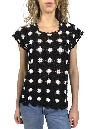 Vintage Knitwear: Crochet Sweaters