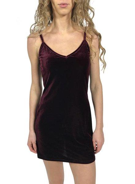 Vintage Dresses: Velvet Stretch Dresses