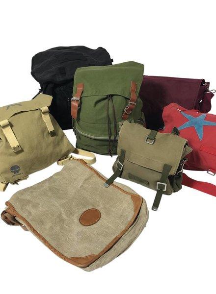 Vintage Bags: Canvas Backpacks