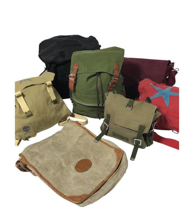 Vintage Bags: Canvas Bags & Backpacks