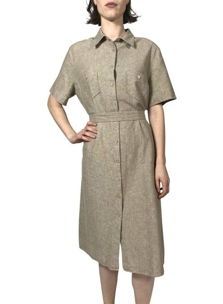 Vintage Sets & Suits: Linen Clothing Mix