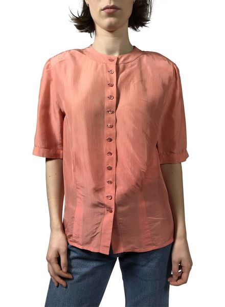 Vintage Tops: Silk Blouses