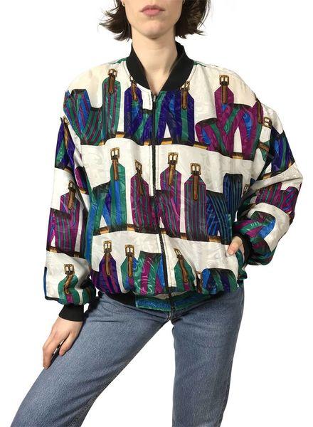 Vintage Jackets: Printed Jackets Ladies