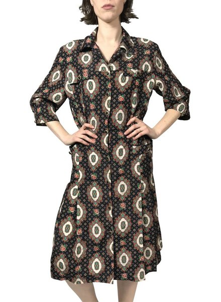 Vintage Dresses: 80's Winter Dresses