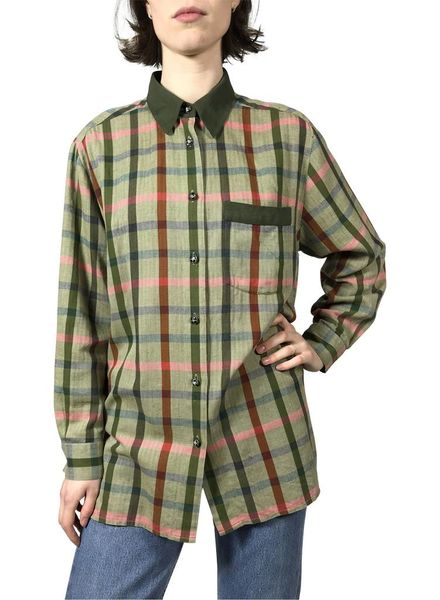 Chemises Vintage: Chemises Flanelle Femmes