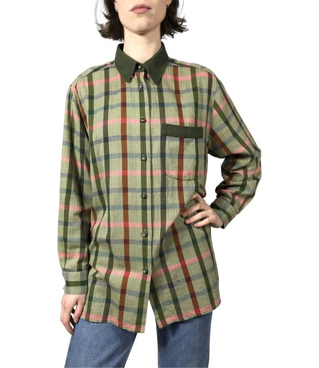 Vintage Shirts: Flannel Shirts Ladies