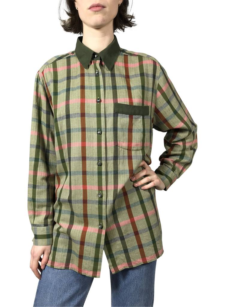 88903d6b0c9 Vintage Shirts  Flannel Shirts Ladies - ReRags Vintage Clothing Wholesale