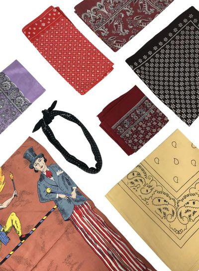 Vintage Scarves: Bandanas