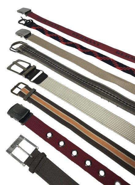 Vintage Belts: Canvas Belts