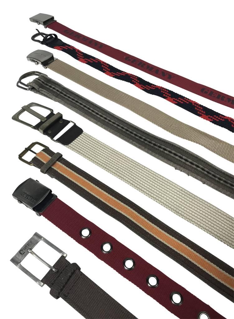 95ae3b845f00f Vintage Belts: Canvas Belts - ReRags Vintage Clothing Wholesale