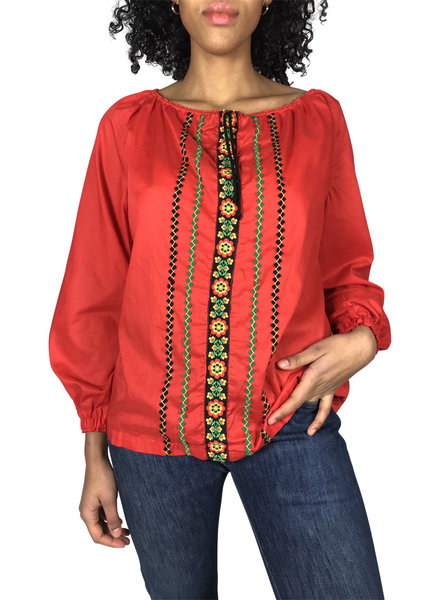 Vintage Tops: Ethnic Blouses