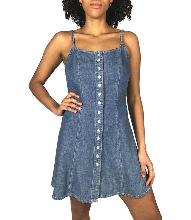 Vintage Dresses: Denim Dresses