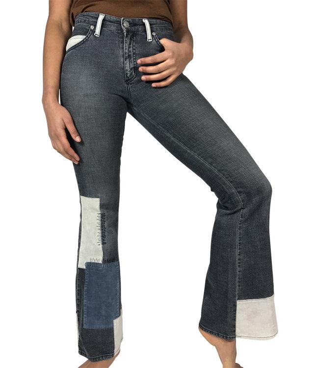 Pantalons Vintage: 90's Pantalons Flare