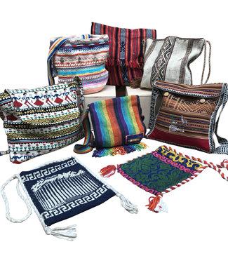 Vintage Bags: Canvas Hippie Bags