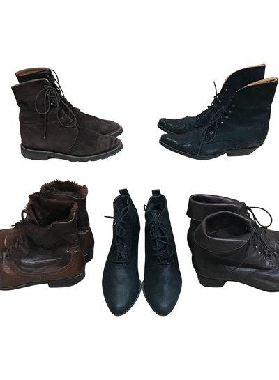 Vintage Shoes: Lace Boots