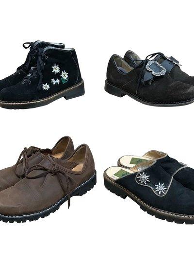 Vintage Shoes: Tyrolean Men Shoes