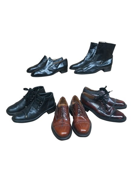 Chaussures Vintage: Chaussures en Cuir Hommes