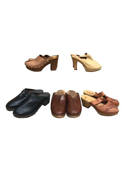 Vintage Shoes: Clogs
