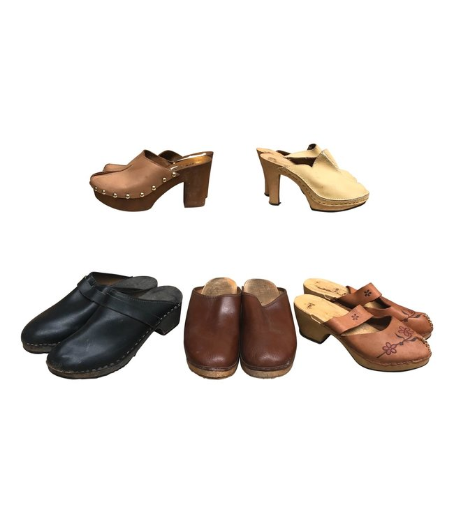 Vintage Shoes: Clogs