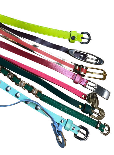 Vintage Belts: Skinny Belts