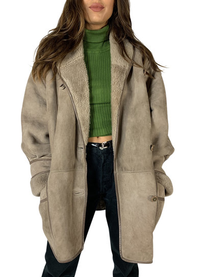Vintage Coats: 90's Sheepskin Coats Ladies
